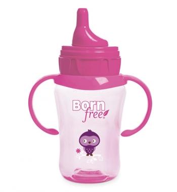 Чашка-поильник Born Free 260 мл., с 9 мес.