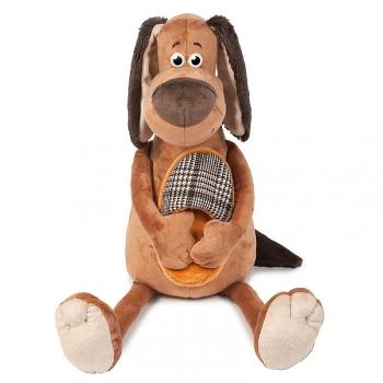 Мягкая игрушка Maxi Toys Пес Ватсон с Тапком