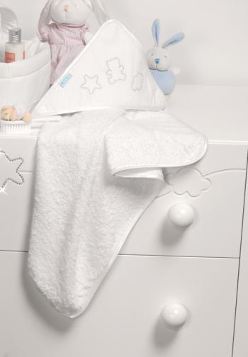 Банное полотенце с уголком Micuna Juliette TX-836 (70x70)