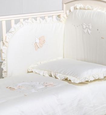Постельный комплект Italbaby Sweet Angels 5 предметов