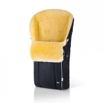 Конверт в коляску меховой Esspero Nicolas Leatherette (натуральная овчина)