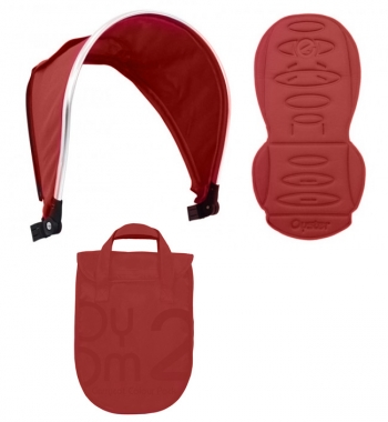 Colour pack для 2-го сиденья Oyster MAX (капюшон, текстиль)
