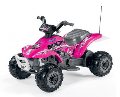Электромобиль Peg Perego Corral Bearcat Pink