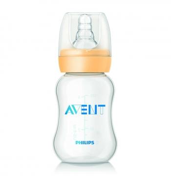 Бутылочка Avent Standart PP, 120 мл, силик. соска, медл. поток, 0+, 1 шт., арт. 80900