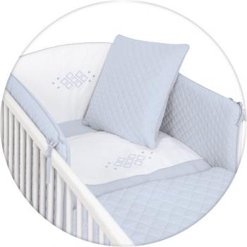 Постельное бельё Ceba Baby CARO с вышивкой 5 предметов
