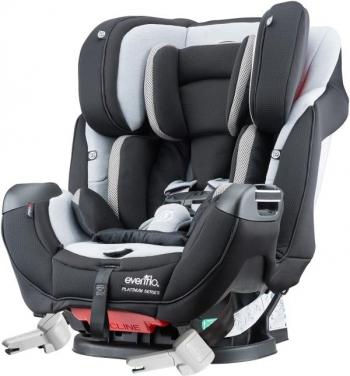 Автомобильное кресло Evenflo Symphony™ e3 DLX Platinum Series™ (Rollover tested)