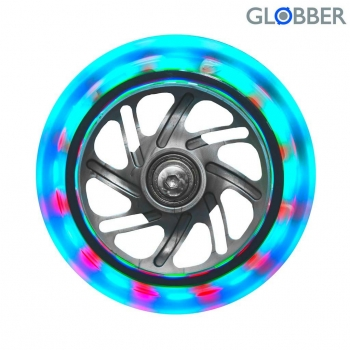 Светящиеся передние колеса Globber 120mm
