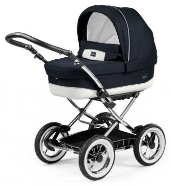 Коляска для новорожденных Peg Perego Culla Elite Auto Chrome