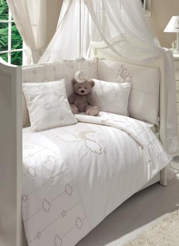 Постельное белье Funnababy Luna Elegant 125x65 5 предметов