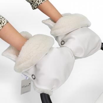 Муфта-рукавички для коляски Esspero Margareta (100% овечья шерсть)