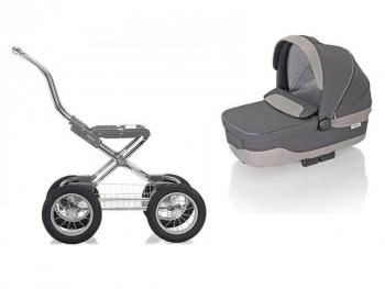 Коляска для новорожденных Inglesina Sofia Comfort Chrome/Slate (AE10G6100B)