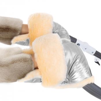 Муфта-рукавички для коляски Esspero Oskar (Натуральная шерсть)