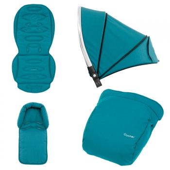 Colour pack для Oyster2/MAX (капюшон, текстиль, накидка на ноги)