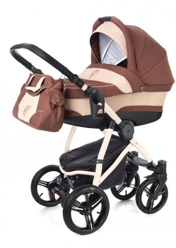 Коляска для новорожденных Esspero Newborn Lux (шасси Beige)