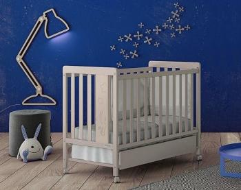 Детская кроватка Micuna Rabbit (120х60) + Матрас СН-620