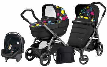 Коляска 3 в 1 Peg Perego Book 51 Elite Set Modular (шасси Jet)