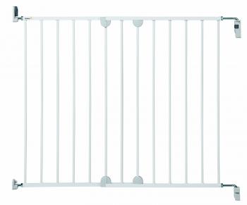 Металлический барьер-калитка Safety 1st WALL-FIX EXTENDING METAL (62-102 см) цвет белый