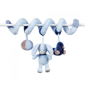 Мягкая игрушка Nattou Alex Bibou Toy Spiral Кролик 321204