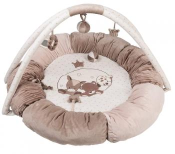 Игровой коврик круглый Nattou