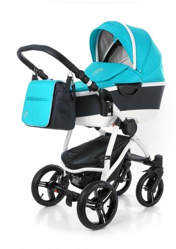 Коляска для новорожденных Esspero Newborn Lux Alu (шасси White)