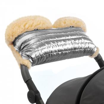 Муфта для рук на коляску Esspero Diaz Lux (Натуральная шерсть)