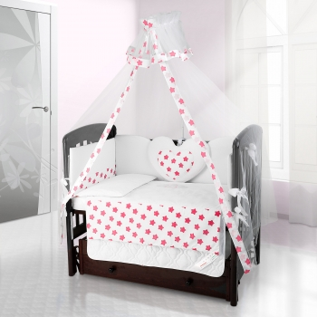 Балдахин на детскую кроватку Beatrice Bambini Bianco Neve