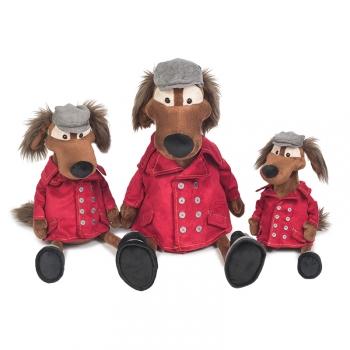 Мягкая игрушка Maxi Toys Пес Шерлок в Куртке