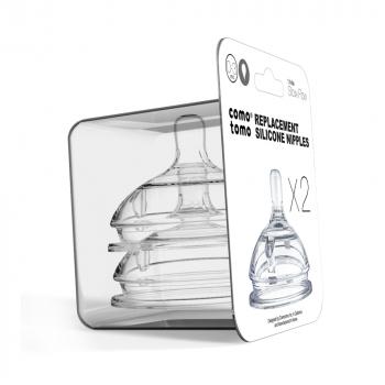 Соски для бутылочек COMOTOMO Natural Nipple Packs 0-3