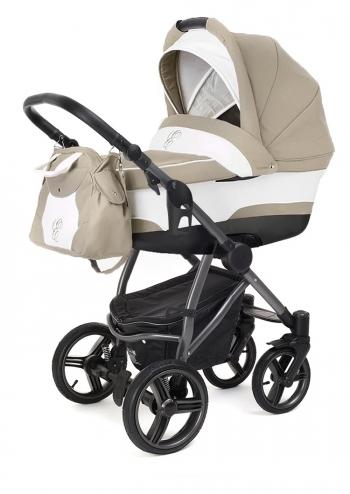 Коляска для новорожденных Esspero Newborn Lux (шасси Graphite)