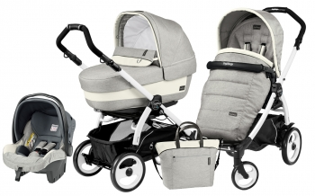 Коляска 3 в 1 Peg Perego Book 51 Elite Set Modular (шасси White/Black)