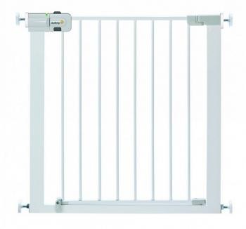 Металлический барьер-калитка Safety 1st EASY CLOSE METAL (73-80 см) цвет белый