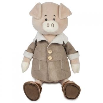 Мягкая игрушка Maxi Toys Поросенок Веня в Дубленке, 20 см
