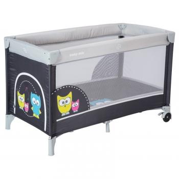 Манеж-кроватка Baby Mix Совенок