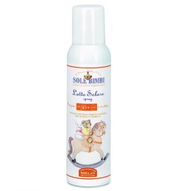 Солнцезащитное молочко-спрей Helan (с высоким фактором защиты SPF50+ UVA)
