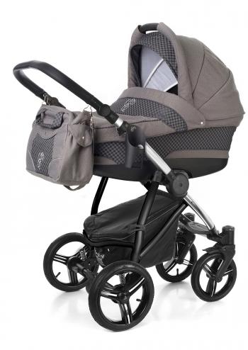 Коляска для новорожденных Esspero Newborn Lux (шасси Chrome)