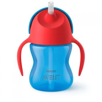 Чашка-поильник с трубочкой Avent 200 мл 9мес+ SCF796