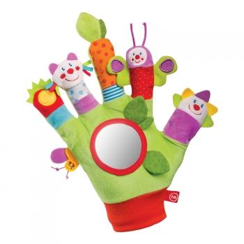 Развивающая рукавичка-кукольный театр Happy Baby