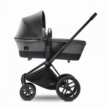 Детская коляска для новорожденных Cybex Priam (шасси All Terrain Matt Black)
