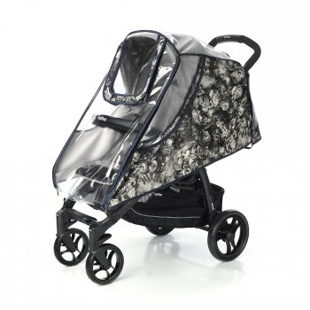 Дождевик для коляски Esspero Cabinet Leatherette Flowers