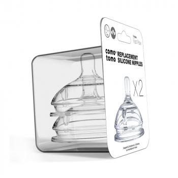 Соски для бутылочек COMOTOMO Natural Nipple Packs 6+