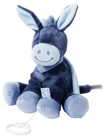 Мягкая музыкальная игрушка Nattou Soft Toy Alex Bibou