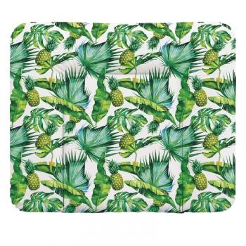 Пеленальный матрац 70x85 см Ceba Baby Flora Fauna мягкий на комод