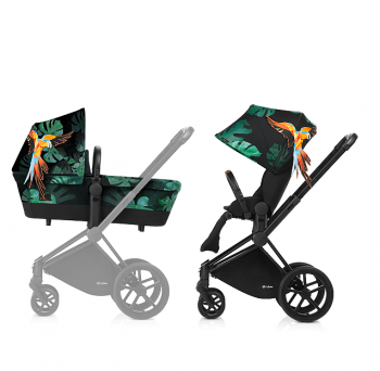 Коляска 2 в 1 Cybex Priam Birds of Paradise