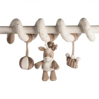 Мягкая игрушка Nattou Max, Noa   Tom Toy Spiral Лошадка 777278