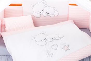 Комплект постельного белья Lepre Sweet Bears 6 предметов (125*65)