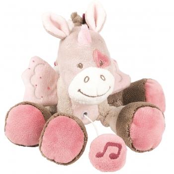 Мягкая музыкальная игрушка Nattou Soft Toy Mini Nina, Jade Lili