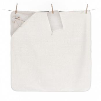 Полотенце-уголок Fiorellino Premium Baby 90x90 см