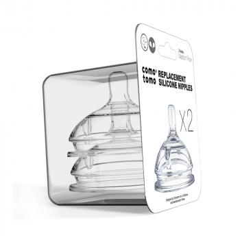 Соски для бутылочек COMOTOMO Natural Nipple Packs 3-6