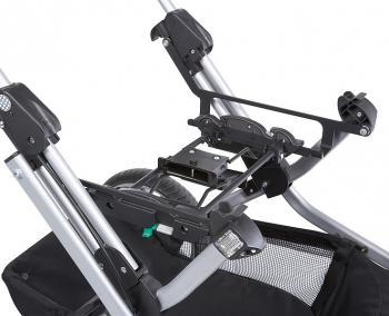 Адаптер Teutonia для установки на шасси колясок автокресла группы 0 (Maxi-Cosi, Kiddy, Cybex)