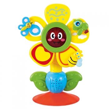 Игрушка музыкальная на присоске Happy Baby Fun Flower
